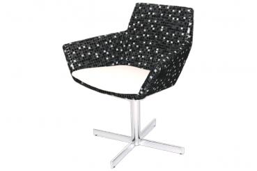 Delta Arm Swivel Chair