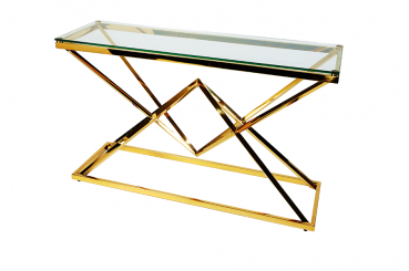 Gold Narnia Console Table