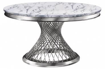 Atlas Silver Dining Table