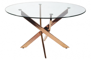Rose Gold Sword Dining Table