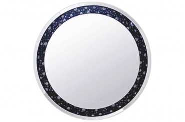 Black Bead Mirror