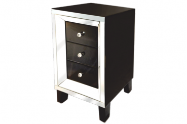 Angelo Black Side Table
