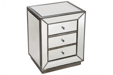 Golden Bead Side Table