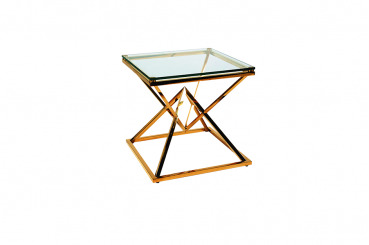 Gold Narnia Side Table