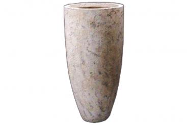 Round Stone Vase